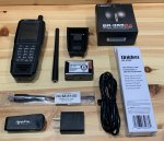 Uniden SDS100 True I/Q Digital Handheld Scanner with Extras