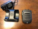 Motorola MotoTRBO Bluetooth Wireless Remote Speaker Mic KIT XPR5550 XPR7550 *SOLD*