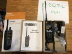 Uniden SDS100 with upgraded antenna - $520